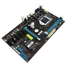 294*170 мм BTC B85 материнская плата Systemboard для Интер B85 LGA 1150 гнездо 2 * DDR3 ATX добыча материнская плата поддержка 7 Графика карты