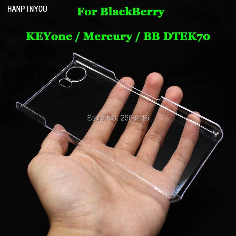 Для blackberry keyone/mercury/BB dtek70 4.5 Жесткий ПК DIY случае ультра тонкий Ясно Жесткий Пластик крышка защитная пленка