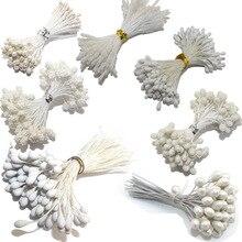 CCINEE белый цвет цветок тычинки розы 1 мм/3 мм/5 мм для украшения торта/ремесла/нейлон цветок DIY подарок аксессуары