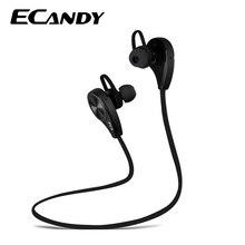 Big discount Ecandy Wireless Sports Phone headphones Bluetooth 4.0 with Mic Handsfree Noise Isolation Headphones For Iphone xiaomi Headset
