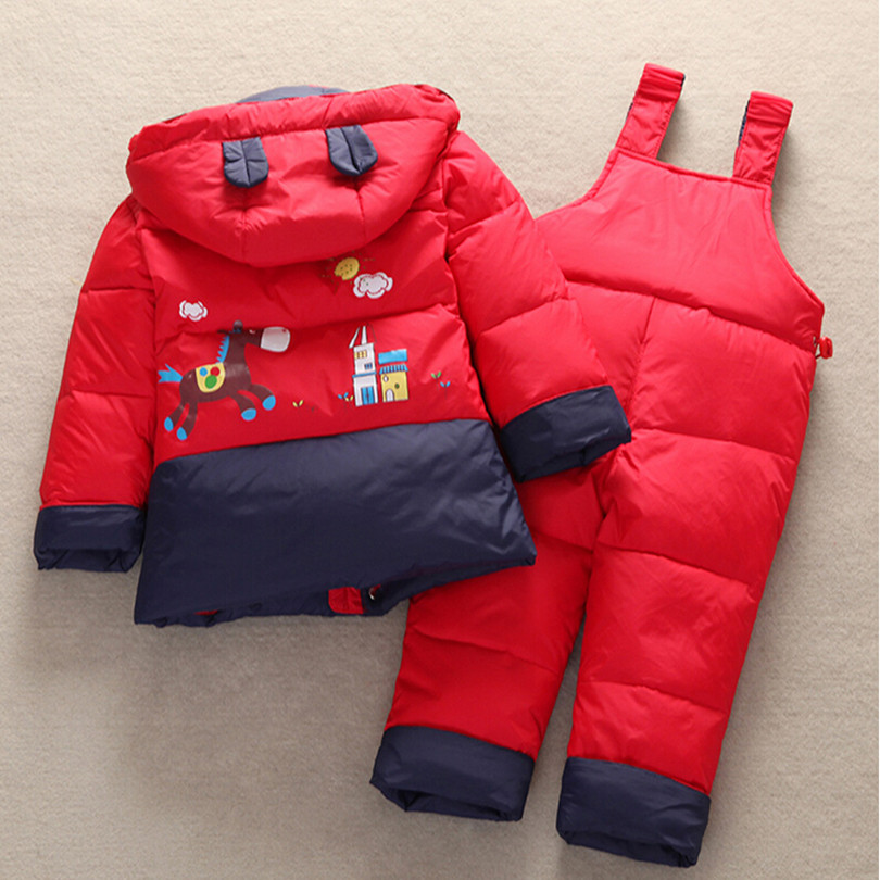 2017 New Winter Children Duck Down Jacket Set Pants-Jacket Clothing Girls Baby Coat Jacket - China Cheap Products