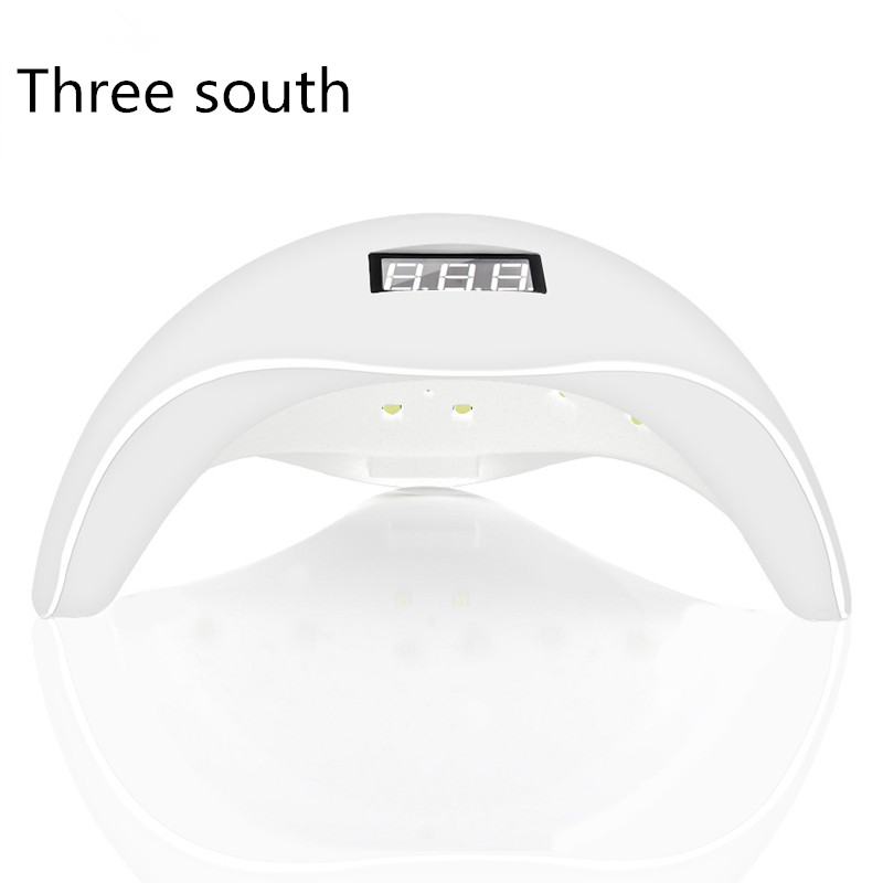 lamp for nails SUN5 48w Dual UV LED Nail Light Lamp Nail Dryer Gel-Luck Curing Light from Bottom 30s/60s
