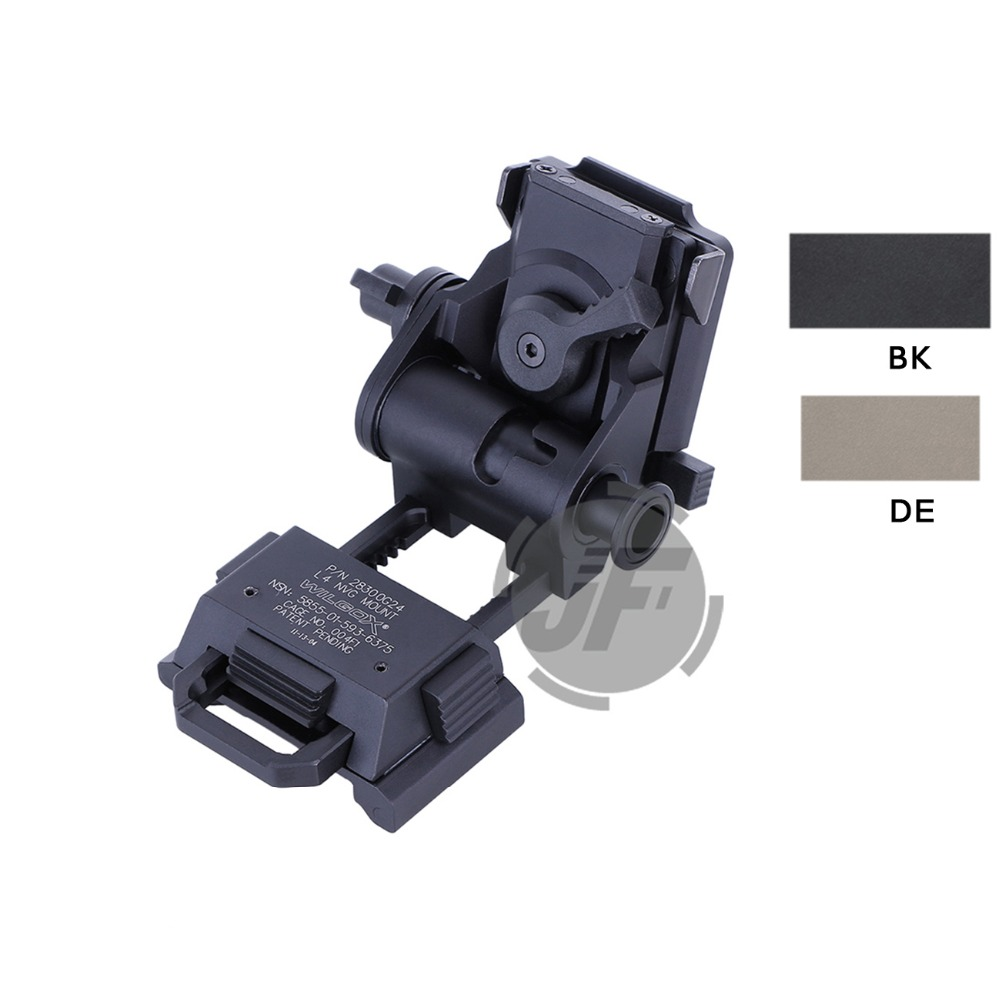 Здесь можно купить  Tactical Night Vision L4 G24 NVG Mounts Adapters Breakaway MICH / ACH Helmet NVG Mount for AN PVS15 PVS18 PVS21  Спорт и развлечения