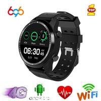 696 KC03 Смарт часы IP67 Водонепроницаемый Smartwatch 4G Wi Fi gps 1 Гб + 16 GB часы Поддержка WhatsApp Facebook Youtube