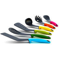 Best Sale!!! 6 Piece Set MultiColor Heat resistant Elevate Kitchen Cooking Non stick Utensils New Free Shipping