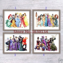Diy Diamond Painting Cartoon Princess 5D Diamond Måla Cross Stitch Needlework Decor Full Diamond Broderi Diamond mosaik