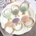 Seashell Accesorios Para el Cabello Pelo Banda de Pelo Cuerda Elástica Sirena de La Joyería Del Pelo Del Hairband