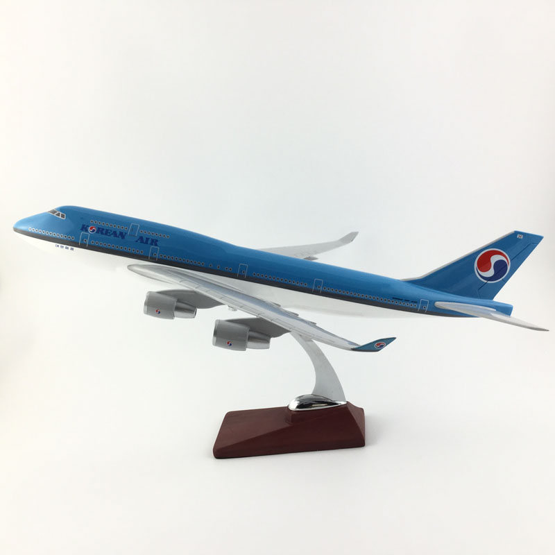 FREE SHIPPING 45 47CM KOREAN AIR AIRWAYS MODEL PLANE AIRCRAFT MODEL TOY AIRPLANE BIRTHDAY GIFT