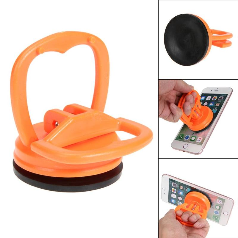 1pc Disassemble Mobile Phone Repair Tool LCD Screen Computer Vacuum Strong Suction Cup Car Remover Round Shape