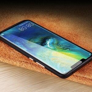 Image 5 - יוקרה עסקים אמיתי עור מקרה עבור Huawei P30 פרו Ultra Slim רך TPU פגוש אנטי שריטה החלקה עמיד עמיד הלם פגז