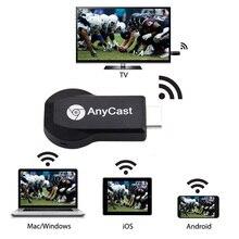 HD 1080P AnyCast M2 Plus Airplay Wifi Дисплей ТВ ключ приемник DLNA легкий обмен Мини ТВ-Палка для Android IOS WINDOWS ND998