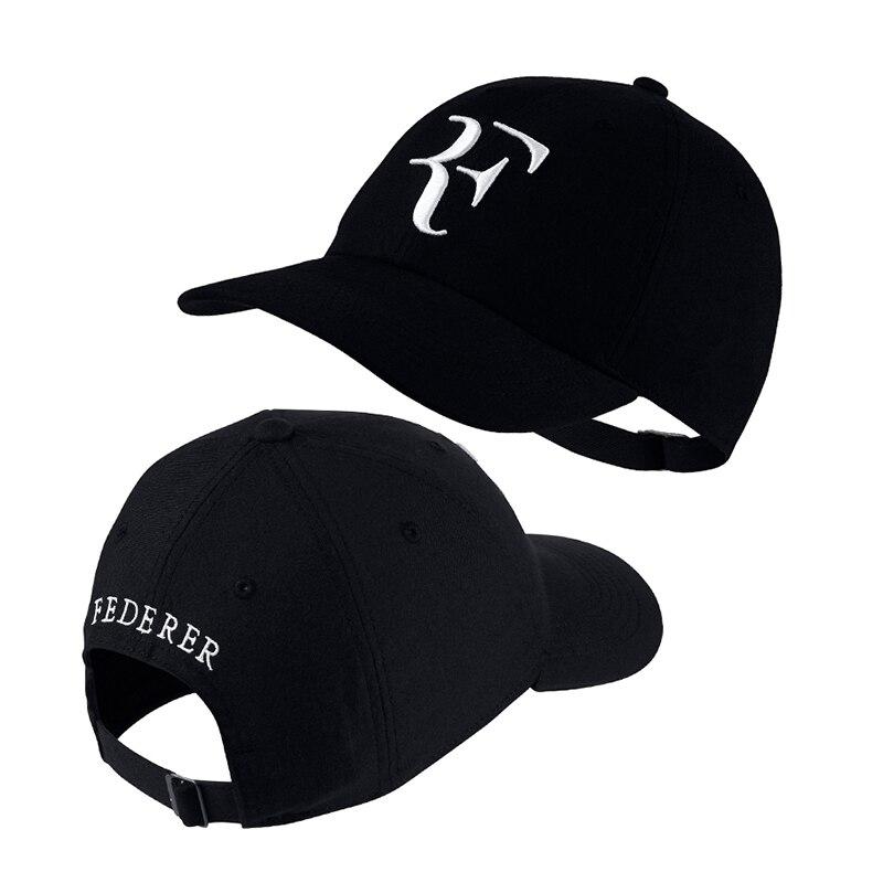 HTB1lb4kG3aTBuNjSszfq6xgfpXax - 2018 Tennis Star Roger Federer Dad Hat Sport baseball cap 100% cotton 3D embroidery Unisex Snapback caps Tennis hat F Hats