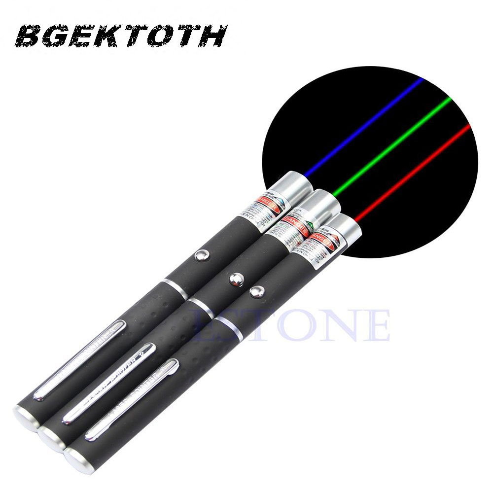 High Quality Color Purple Red Green 405nm 5mw Laser Pointer Pen New Drop shipping