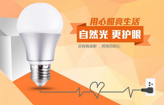 LED E27 LED Lamp lights LED bulb 3w Led Light Bulb Cold white/warm white