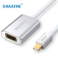 SAMZHE Mini DP To VGA Adapter Cable Thunderbolt Mini DP Port Cable To Projector VGA Port