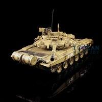 АС со Быстрая Бесплатная HengLong 1/16 2,4 ГГц радио Управление Желтый Русский T90 RTR Р/У танки модель 3938