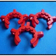 Пластик Keck лаборатории/лабораторный зажим зажимы для суставов 29/32, 3 шт./компл