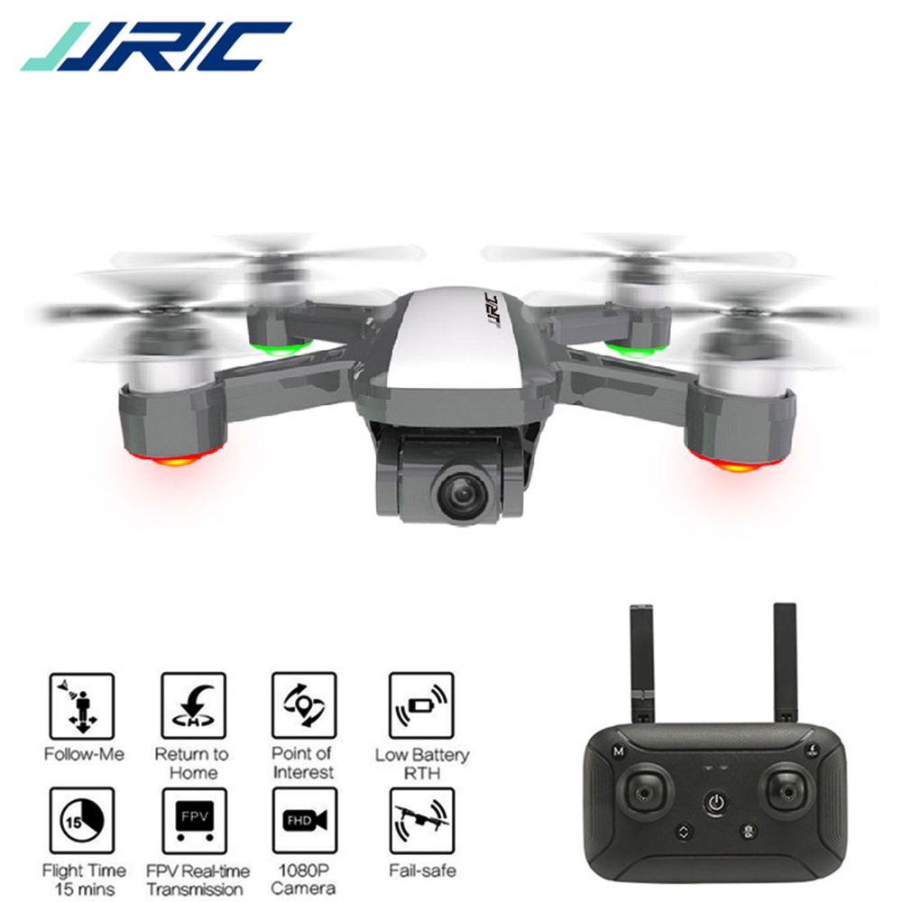 JJRC X9 Professional GPS Brushless RC Drone WIth 5G WiFi FPV 1080P HD Camera Follow Me Selfie Remote Control Drone Helicopters