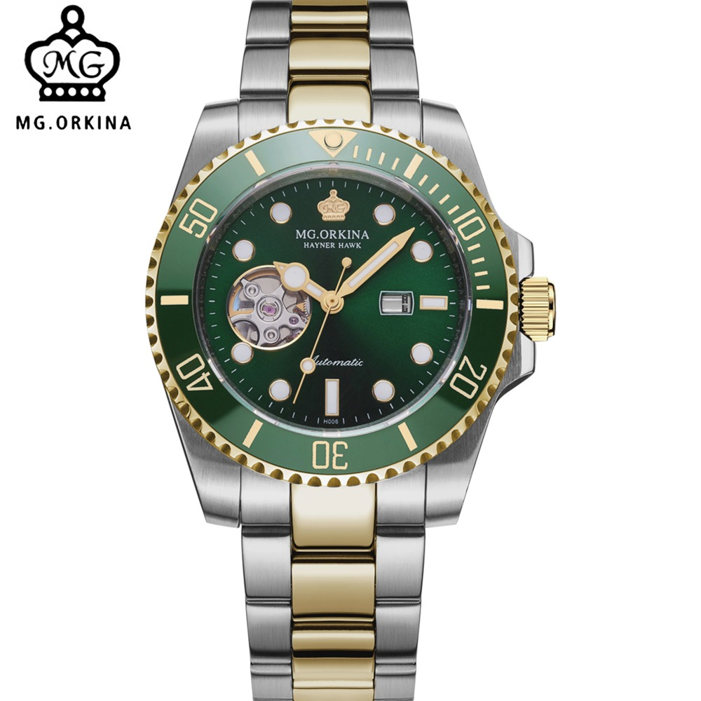 [ pre sale november 11 delivery ] seiko watch seiko 5 automatic sports st aviator 24 jewels men s watch made in japan srp349j1 MG. ORKINA Male Wristwatch SEIKO-made Automatic Movement Mechanical Watch Date Display Luminous Ceramic Rotatable Bezel Horloge