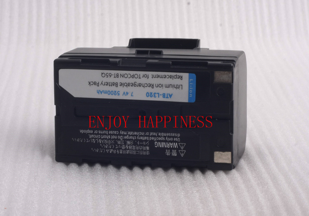 BT-65Q External Battery For Topcon Surveying Instruments 15x phone battery for uniden bt 1016 bt 1021 bt 1025 bt 1008 with43 269 wx12077