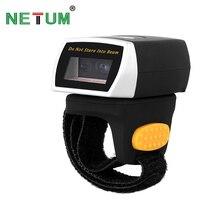 NT R2 Portable Wearable 2D Bluetooth Ring Barcode Scanner Scanning QR Code Bar Code Reader NETUM