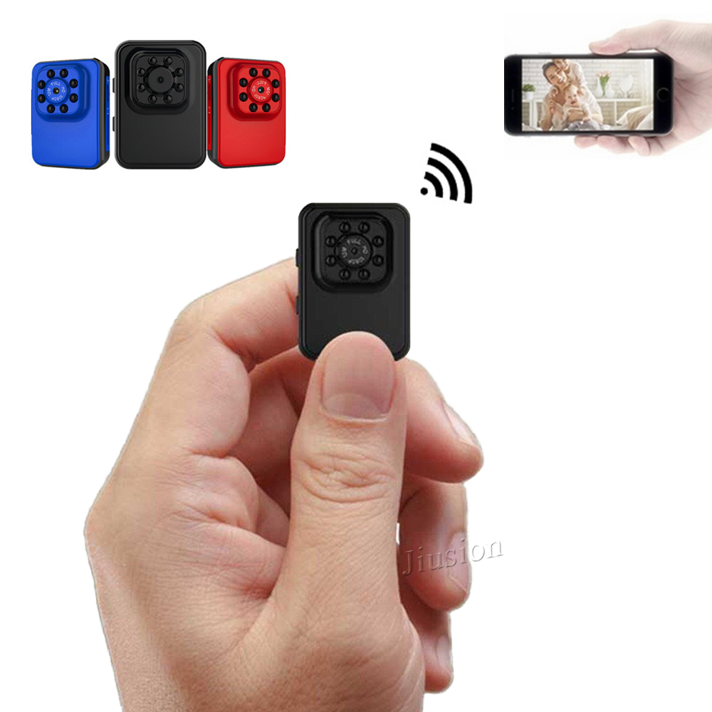 Mini Camera With WiFI, Night Vision FHD 1080P Recording For Surveillance
