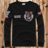 Big and Tall XXL 8XL USA T Shirt Brand New LONG SLEEVE T SHIRT shirts fashion design tee 100% cotton Tee