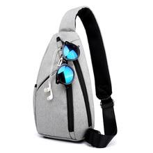 лучшая цена New Arrival Male Shoulder Bags Crossbody Bags Men Anti Theft Chest Bag School Summer Short Trip Messengers Bag