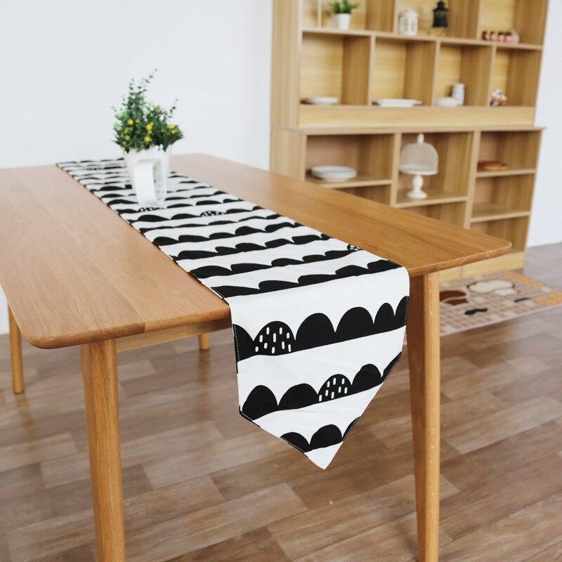 Nordischen Stil Kreative Tischläufer Baumwolle Leinen Gewebt ...