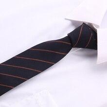 купить cotton fabric slim ties striped necktie feature tie accessories for men Blue 2018 Fashion Brand tie men 6 cm narrow tie T01 дешево