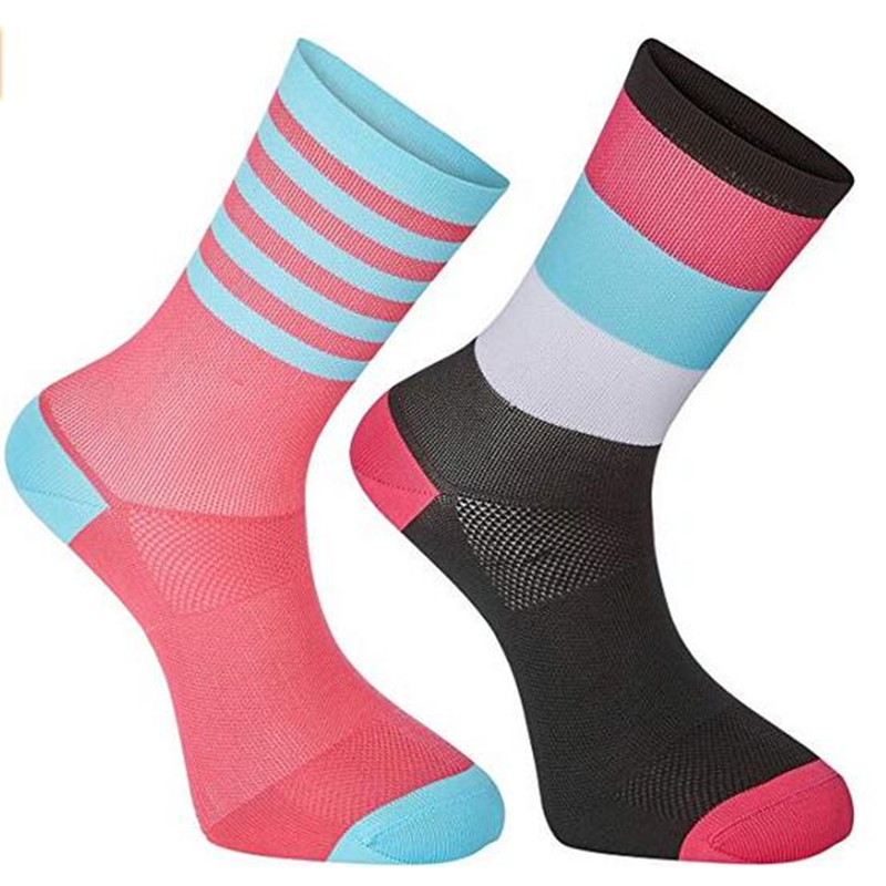 2018 Professional Brand Sport Pro Cycling Socks Comfortable Road Bicycle Socks Mountain Bike Socks Racing Socks