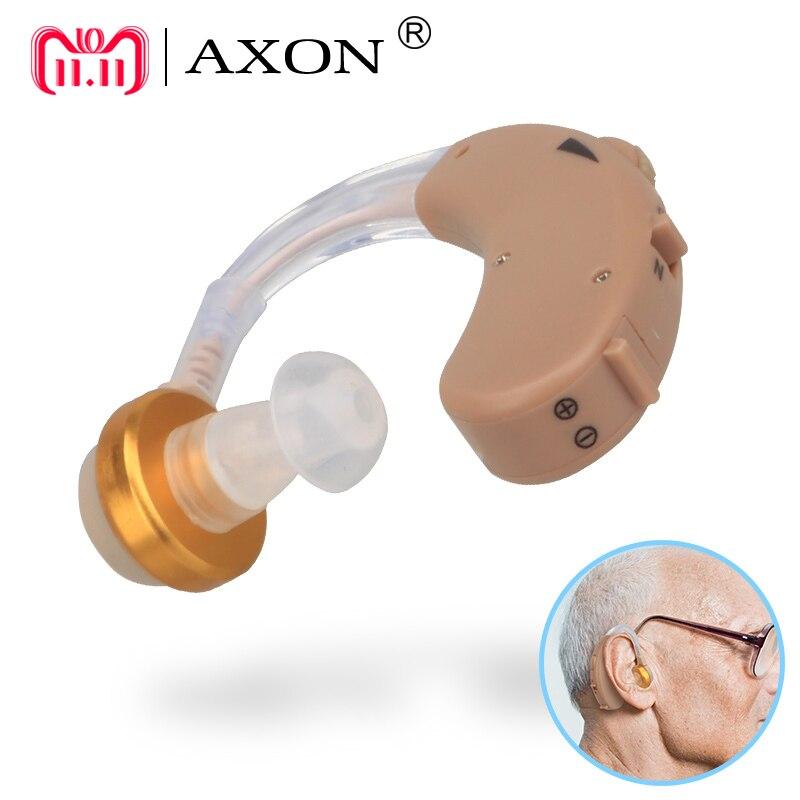 F-138 Ohr Hörgerät Mini Gerät Volumen Einstellbar Sound Stimme Verstärker Verbesserung Hören Klar für die Ältere Deaf Aids Care