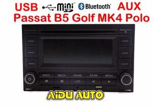 Для VW Golf MK4 Jetta MK4 Polo Passat B5 RCN210 USB CD bluetooth USB плеер радио