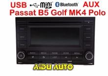 עבור פולקסווגן גולף MK4 Jetta MK4 פולו פאסאט B5 RCN210 USB CD bluetooth USB נגן רדיו