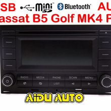 Per VW Golf MK4 Jetta MK4 Polo Passat B5 RCN210 USB CD bluetooth USB Lettore Radio