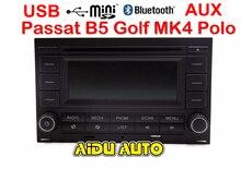 ل VW Golf MK4 جيتا MK4 بولو باسات B5 RCN210 USB CD بلوتوث USB لاعب راديو