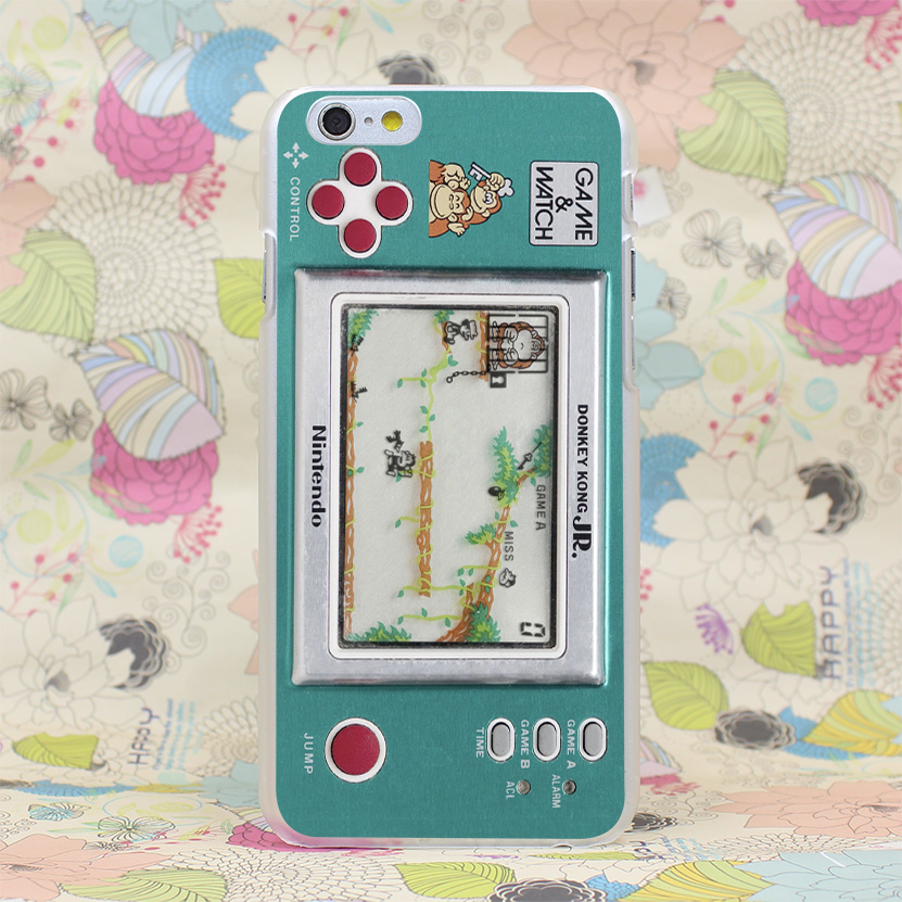 416HJ Game And Watch Plastic Hard Transparent Case Cover for iPhone 4 4s 5 5s SE 5C 6 6s Plus 7 7 Plus