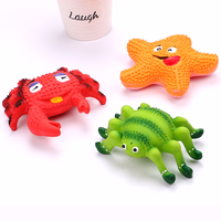 pet-dog-toys-for-dogs-cats-pet-squeak-toys-latex-crab-starfish-pet-puppy-chew-toys-dog-crabs-spiders-starfish-supplies