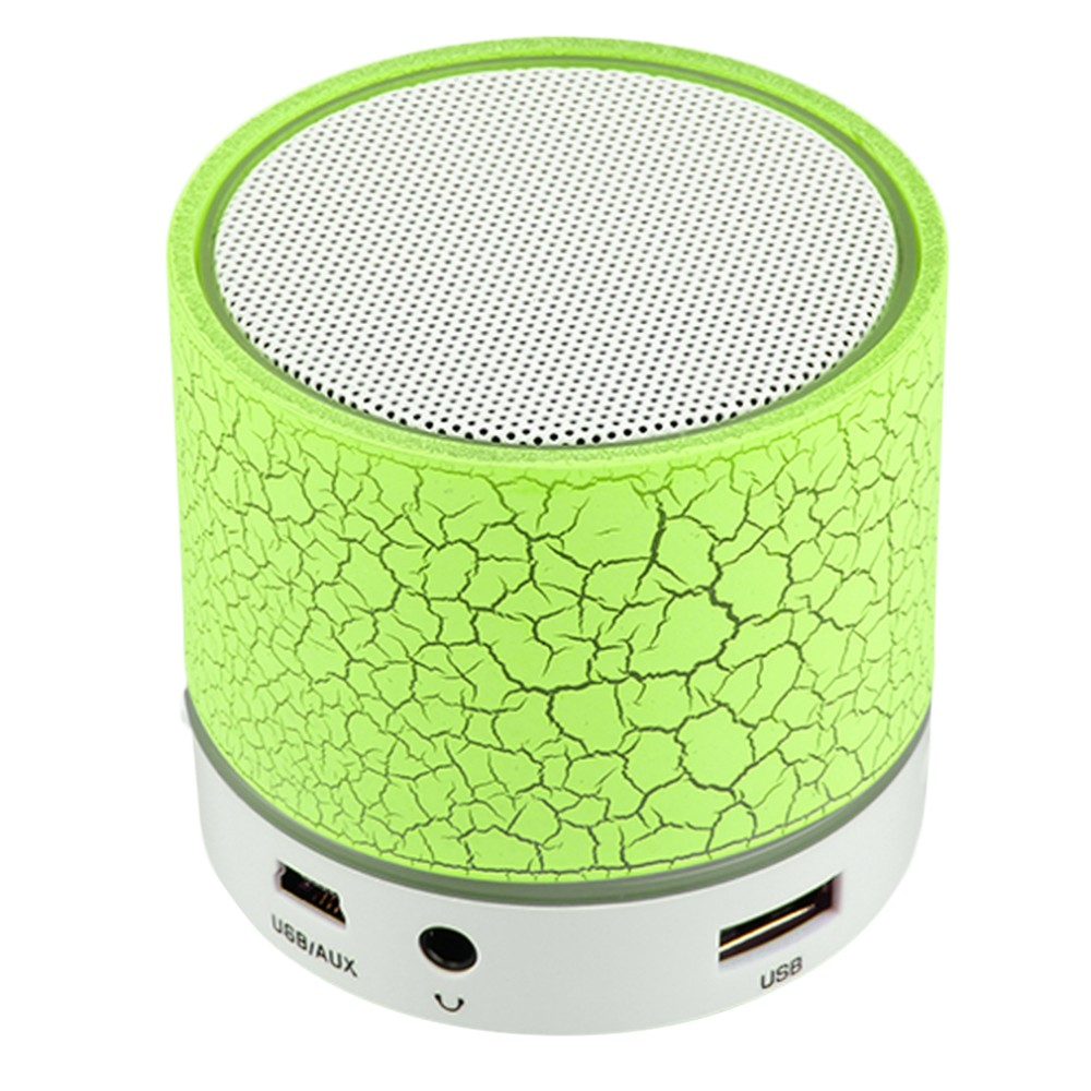 100PCS/LOT LED Mini Bluetooth Speaker A9 TF USB Wireless Portable Music Sound Box Subwoofer Loudspeakers For Phone PC With Mic