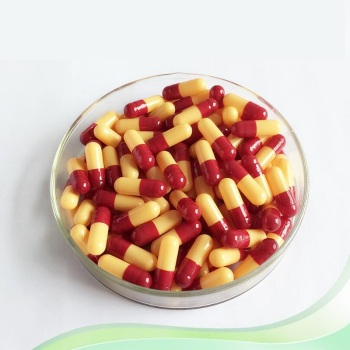 10,000pcs Capsule Clear red yellow Hard Empty Gelatin Capsules,Gelatin Empty Capsules 2# Vacant Capsules фото