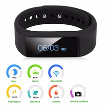 Diggro I5 плюс Смарт Браслет часы Водонепроницаемый SmartBand Bluetooth 4.0 с Сна Трекер здоровье фитнес-трекер