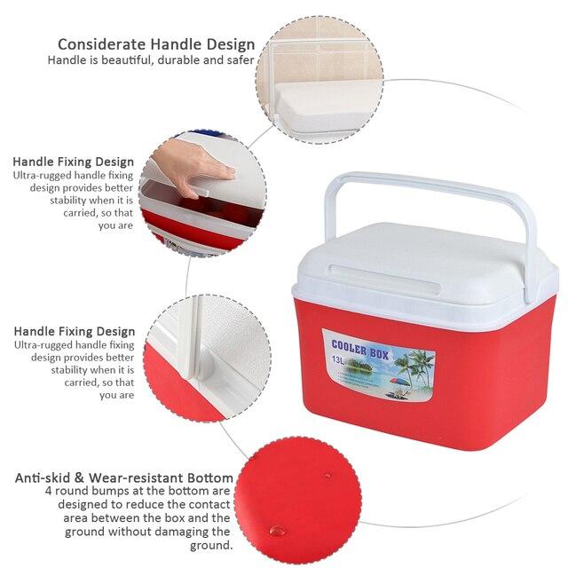 Boîte de conservation des médicaments 13L | Glacière, boîte disolation de voiture, boîte de conservation des médicaments, boîte de pêche au Barbecue à la maison