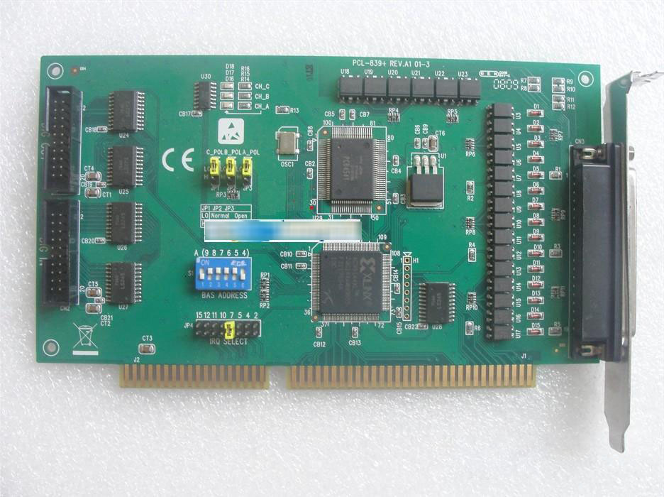 A-dvavtech Pcl-839 3 Shaft Stepper Adv-an-tech Data Acquisition Card 100% tested perfect quality