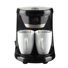 Adoolla 450W 2 Cups Drip Coffee Maker Electric Automatic Espresso Coffee Machine for Home Cafe