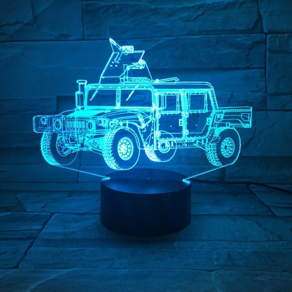 Gastvrij Crane Truck Auto 3d Acryl Nachtlampje Usb Slaap Lichtpunt 3aa Batterij Power Tafellamp Slaapkamer Decor Kids Gift Gx-638