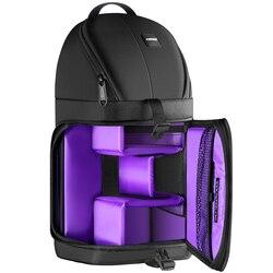 Сумка для хранения камеры Neewer, профессиональная прочная водонепроницаемая сумка с защитой от слезы, черный чехол для переноски рюкзака для ...