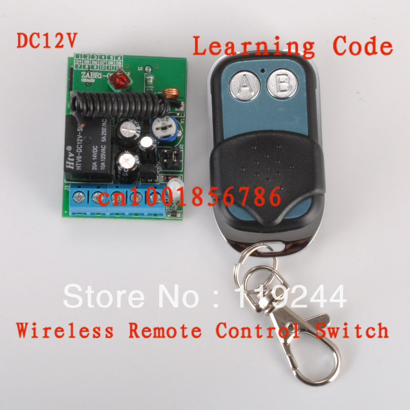 12V 1ch Access/Entery Guard Gateway wireless Remote Control Switch Time Delay Relay Switch 3-12S Adjusted Working with Latched