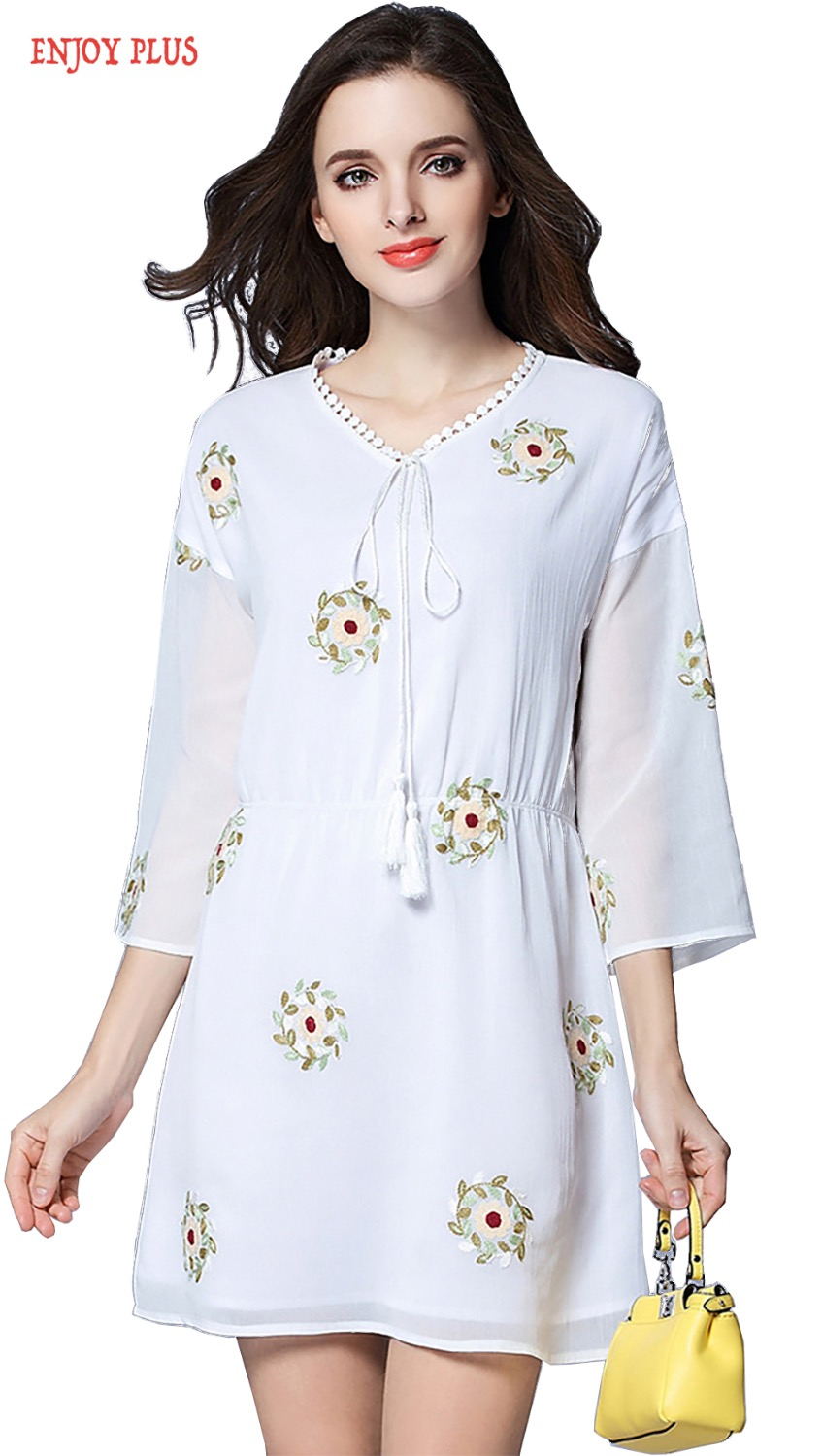 Online Get Cheap White Dress with Big Flowers -Aliexpress.com ...