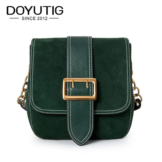 243623ce1 DOYUTIG European Style Women s Luxury Genuine Leather Cross body ...