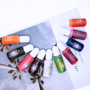 Image 5 - 10pcs Glowing in dark High Concentration Epoxy UV Resin Coloring Dye Colorant Pigment Handmade DIY Jewelry Making Access